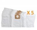 5 sacs Microfibre aspirateur DEXTER 30L