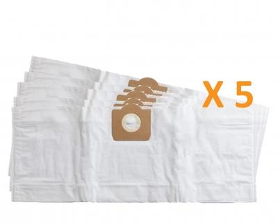 5 sacs Microfibre aspirateur LIV BIDON 30L