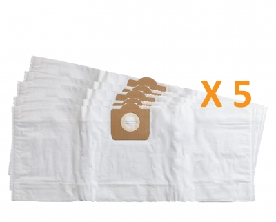 5 sacs Microfibre aspirateur LIV JAZZ EXTRA 30