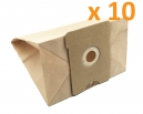 10 sacs aspirateur AEG TC 300 -> 399