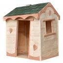 Maisonnette enfant en bois déjà montée !