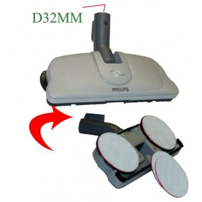 brosse twist clean pour aspirateur philips hr 8895 pour aspirateur philips hr 8895. Black Bedroom Furniture Sets. Home Design Ideas