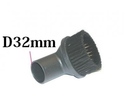 BROSSE RONDE - Diamètre 32mm pour aspirateur PHILIPS HR 8891