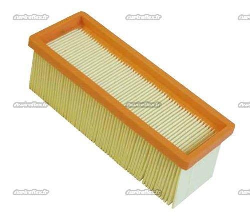 FILTRE PLISSE PLAT   REF 6 414 498 0 Pour Aspirateur KARCHER K 2601