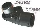 TOURELLE FLEXIBLE - D42mm/D35mm pour aspirateur MIELE S 227