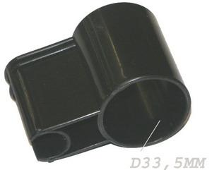 FIXE TUBE GRIS - D33.5mm pour aspirateur ROWENTA RU071