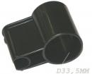 FIXE TUBE GRIS - D33.5mm pour aspirateur ROWENTA RU 071