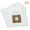 5 sacs Microfibre aspirateur DIRT DEVIL GALAXXY M 1631 - GALAXXY M1632
