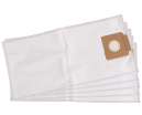 5 sacs Microfibre aspirateur KARCHER BV5/1 DORSAL