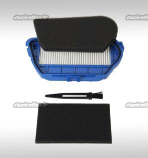 Kit filtration aspirateur MOULINEX COMPACTEO CYCLONIC