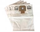 5 sacs Microfibre aspirateur FLEX A21