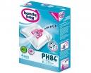4 sacs microfibres HANDY BAG PH84 - Anti-allergène + Filtre Moteur