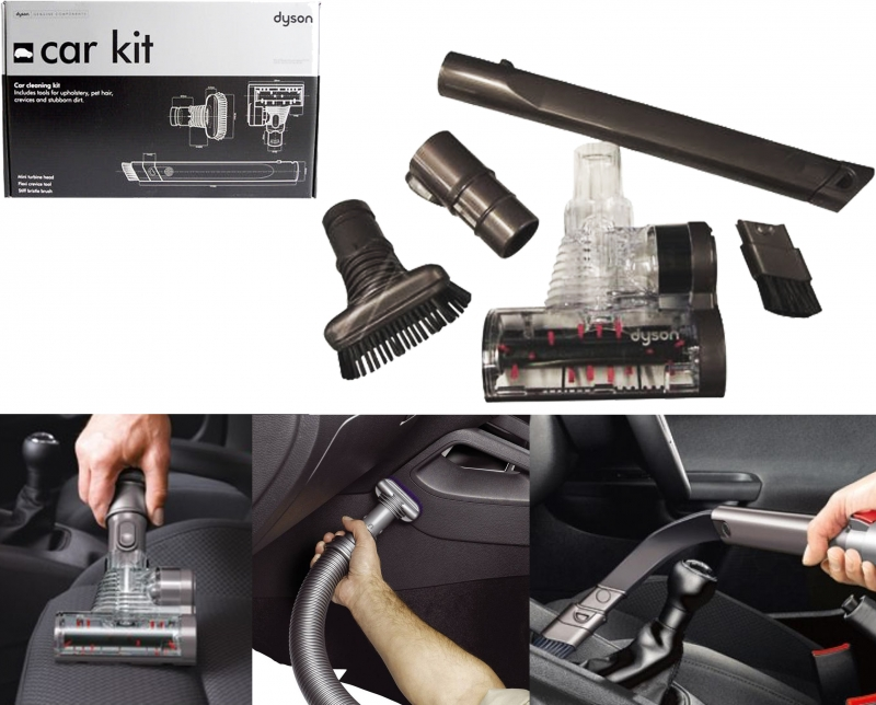 kit de nettoyage voiture pour aspirateur dyson dc8t dc11 dc16 908909 07. Black Bedroom Furniture Sets. Home Design Ideas
