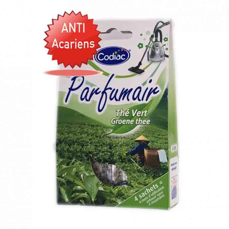 Parfum aspirateur anti acariens au the vert for Anti acariens maison