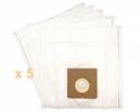 5 sacs Microfibre aspirateur PROLINE VC 9108