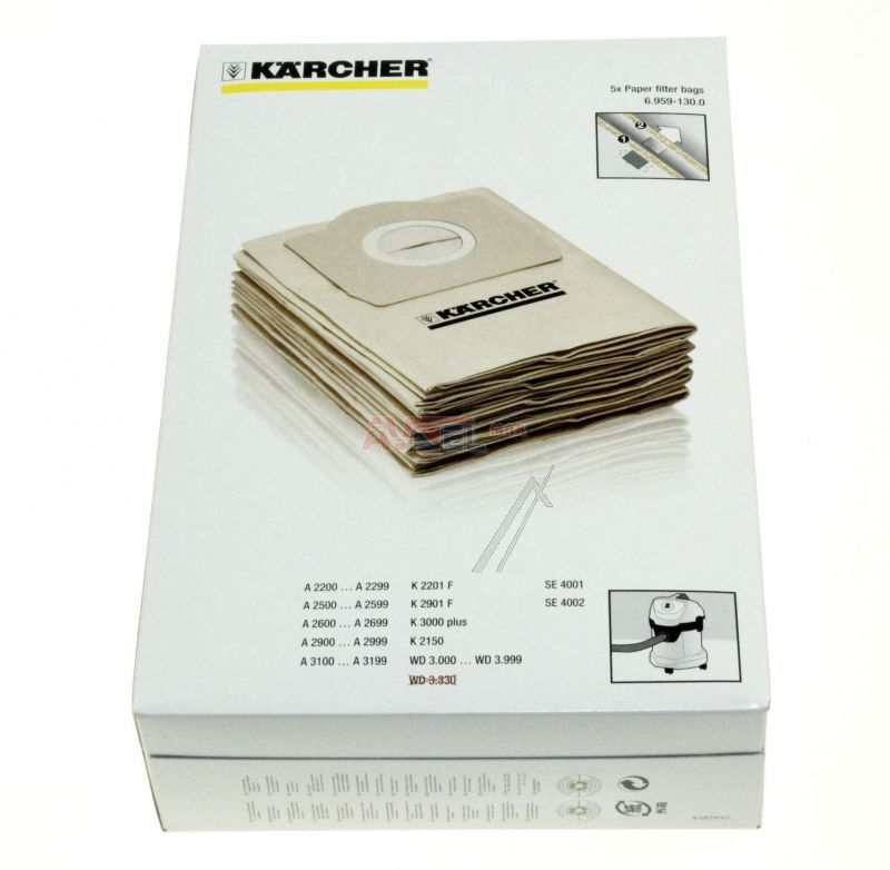 sac aspirateur karcher. Black Bedroom Furniture Sets. Home Design Ideas