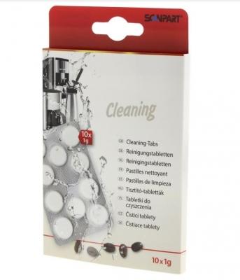10 pastilles de nettoyage pour MACHINES EXPRESSO