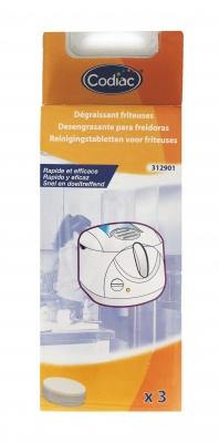 3 pastilles de nettoyage pour FRITEUSES