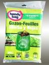 8 sacs HANDY BAG pour gazon et feuilles