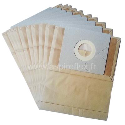 10 sacs aspirateur NILFISK GM 60