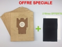 10 sacs aspirateur MIELE FREETIME FRESH