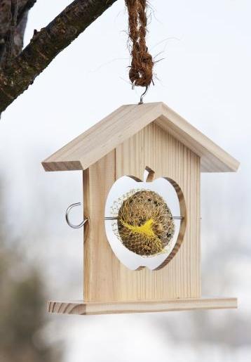 porte boule de graisse pour les oiseaux. Black Bedroom Furniture Sets. Home Design Ideas