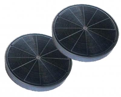 2 filtres charbon actif hotte ARISTON HD9