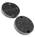 2 filtres à charbon actif hotte WHIRLPOOL AKR 989 IX