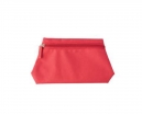 Trousse de toilette rouge
