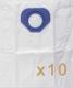 0 sac Microfibre aspirateur NILFISK GM80