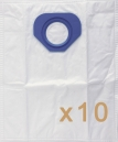 0 sac Microfibre aspirateur Nilfisk-Alto GP 90