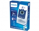 4 sacs Microfibre aspirateur PHILIPS JEWEL - FC9061
