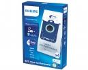 4 sacs Microfibre aspirateur PHILIPS EXPRESSION - FC8602