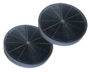 2 filtres charbon actif hotte DE DIETRICH  DHD498XE1