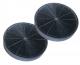 2 filtres charbon actif hotte ARISTON HE90FIX