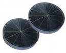 2 filtres charbon actif hotte ARISTON HE60FIX