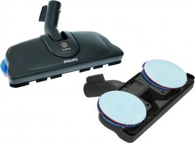 brosse super parquet pour aspirateur philips fc9256 01 ergofit bleu 432200420110. Black Bedroom Furniture Sets. Home Design Ideas