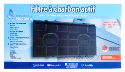 Filtre à charbon actif pour hotte aspirante WHIRLPOOL AKR439/IX