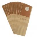 10 sacs industriel aspirateur IVAC/TOSEL UP350 460