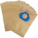 10 sacs industriel aspirateur NILFISK GS80/GS90/GM80/GM90 - GSD -816200/820950