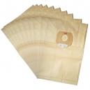 10 sacs industriel aspirateur TASKI BORA  12 - VACUMAT 12/36 - 8504 150 -8500.590- 8504 160