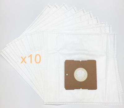 10 sacs Microfibre aspirateur WESDER VC2030