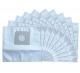 10 sacs Microfibre aspirateur TORNADO X 8 1100 E