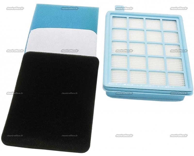 filtre hepa 10 aspirateur philips powerpro compact bagless 432200493801. Black Bedroom Furniture Sets. Home Design Ideas