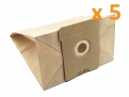 5 sacs aspirateur PRIVILEG 102.723 - 101.862 - 100.331 - 067.179