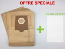 10 sacs aspirateur BOSCH LOGO