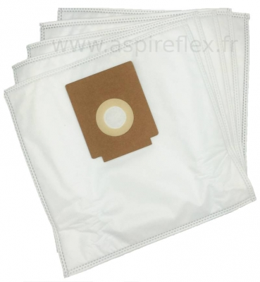 5 sacs Microfibre aspirateur GROWN JC 861 E